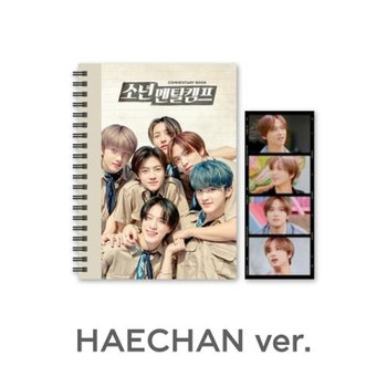 NCT DREAM -Commentary book+film SET - NCT DREAM 'Boys Mental Camp' [HAECHAN]