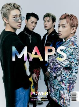 [21/10] MAPS - Oct 2021 / Cover Hongjoong,Wooyoung,San,Mingi ( A Ver.)