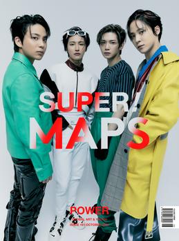 [21/10] MAPS - Oct 2021 / Cover Yunho,Seonghwa,Jongho,Yeosang ( B Ver.)