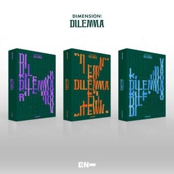 ENHYPEN - Vol.1 [DIMENSION : DILEMMA] (Random ver)+Poster