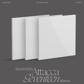 [WEVERSE] SEVENTEEN - 9th Mini  [Attacca] Set 3pcs
