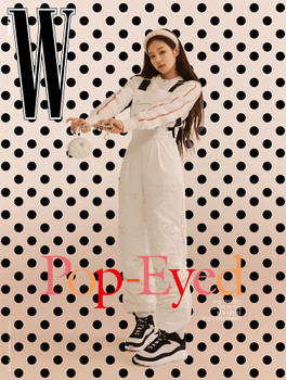 [21/11] W KOREA - Cover : BLACKPINK : Jennie