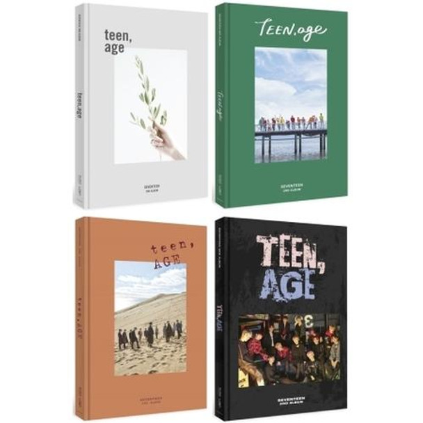 SEVENTEEN - 2nd Album / TEEN, AGE (Random ver.)
