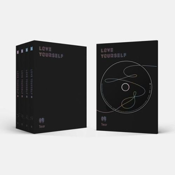 BTS - LOVE YOURSELF [Tear] 4ver Set