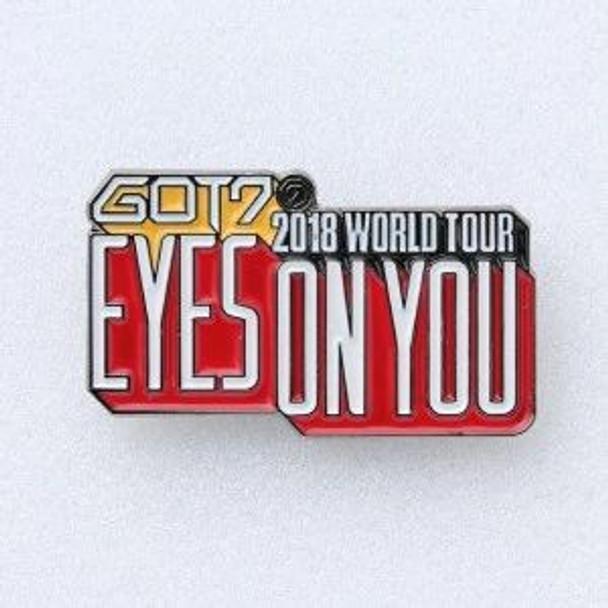 GOT7 - 2018 WORLD TOUR GOODS [LOGO BADGE]