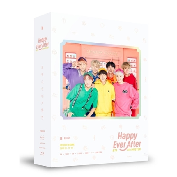 BTS  - 4th MUSTER  [Happy Ever After] Blu-ray