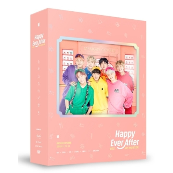 BTS  - 4th MUSTER  [Happy Ever After] DVD