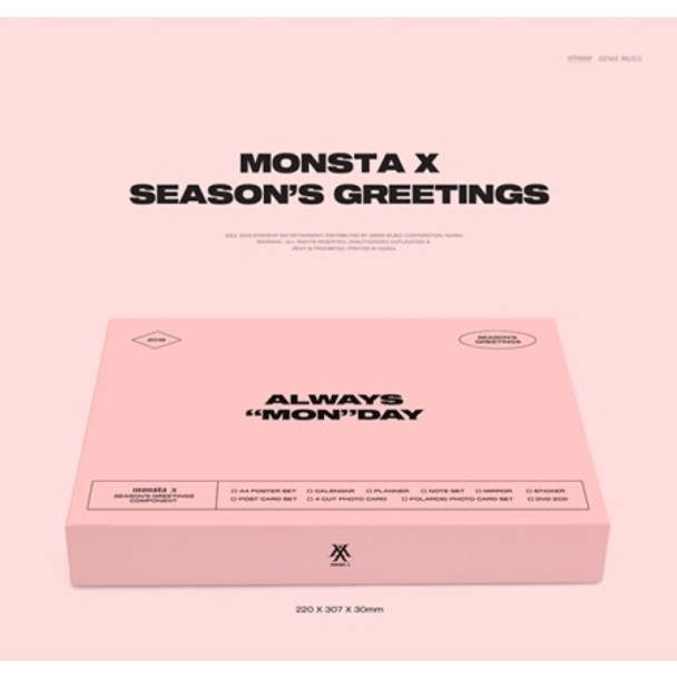MONSTA X - 2019 SEASON GREETINGS