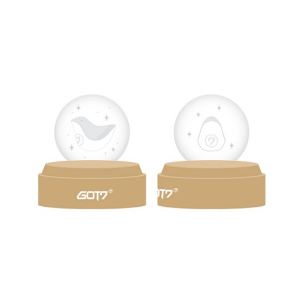 GOT7  - 2019 WORLD TOUR KEEP SPINNING OFFICIAL GOODS [GLASS BALL MOOD LIGHT]
