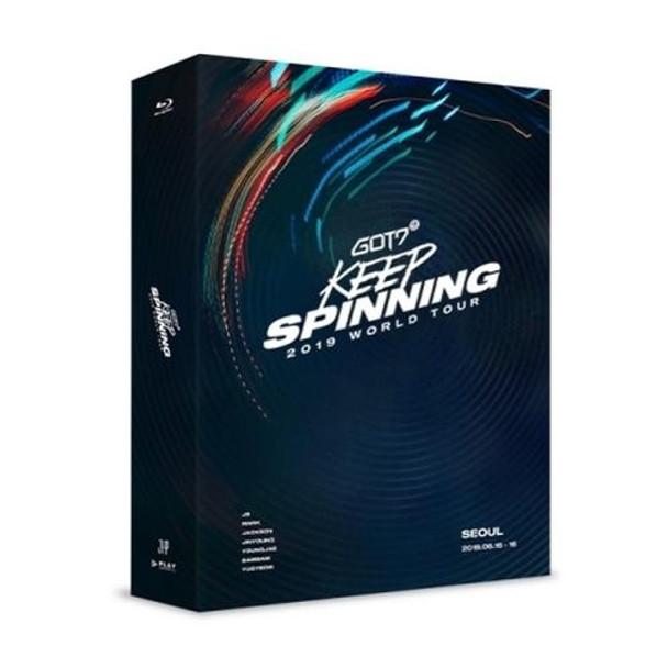 GOT7 2019 WORLD TOUR 'KEEP SPINNING' IN SEOUL (BLU-RAY)