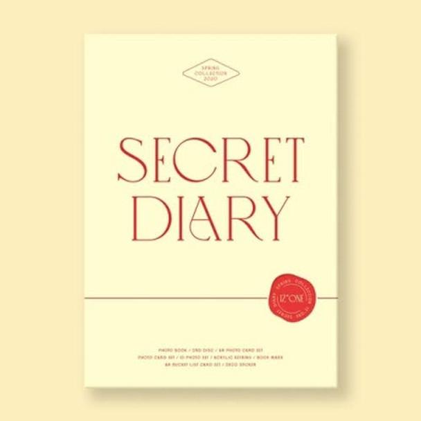 IZ*ONE - SECRET DIARY (PHOTOBOOK PACKAGE)