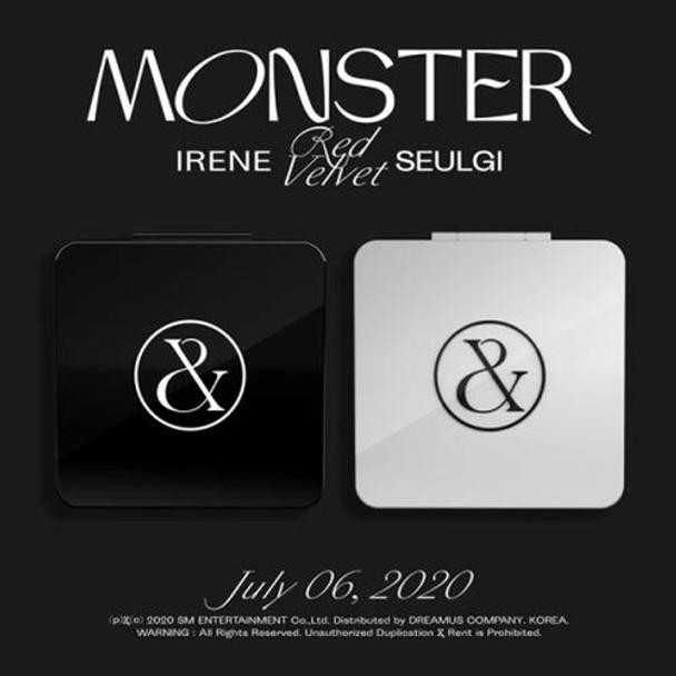 Red Velvet - IRENE & SEULGI - 1st Mini [Monster] + Poster (A:Top Note/ B:Middle Note ver.)