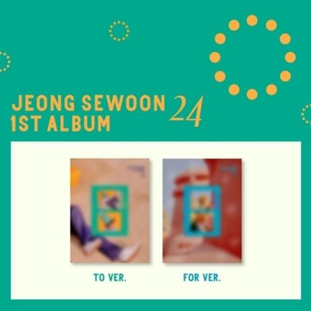 Jeong Se Woon - Vol.1 [<24> Part.1] + Poster