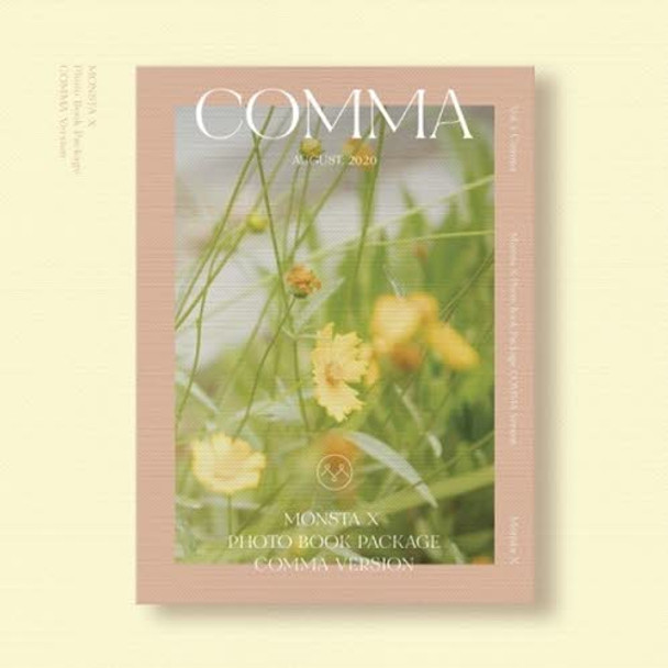 MONSTA X - 2020 PHOTO BOOK [COMMA]