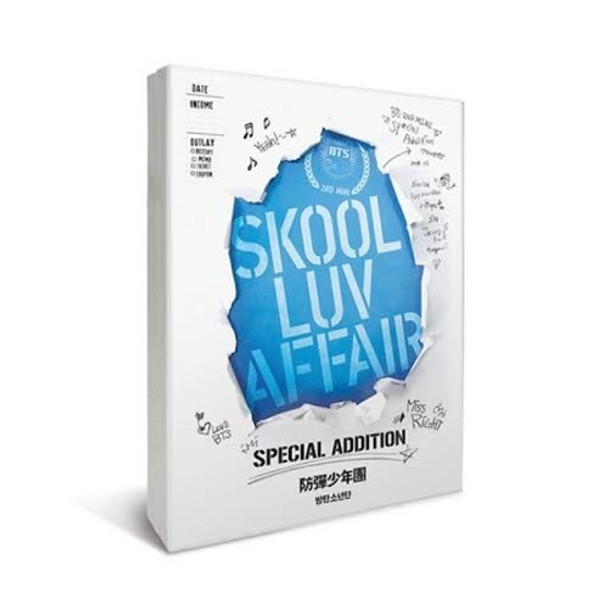 BTS - Skool Luv Affair  Special Addition + Poster