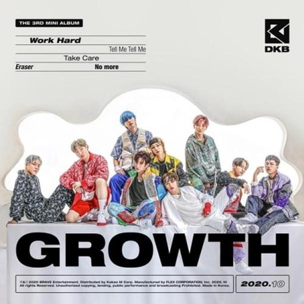 DKB - Mini Vol.3 [GROWTH] + Poster