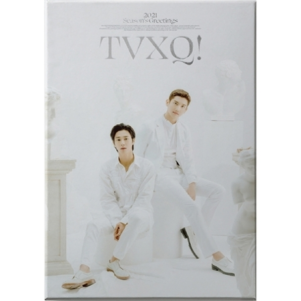 TVXQ - 2021 SEASON'S GREETINGS + interAsia gift (All member photocard Set)