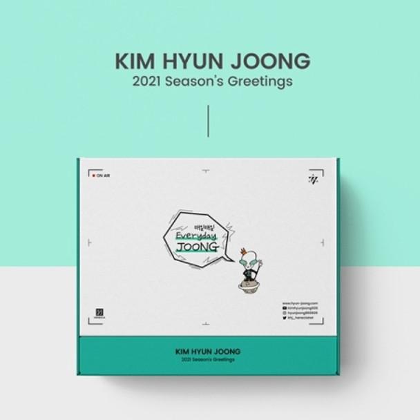 KIM HYUN JOONG 2021 SEASONS GREETINGS [Everyday Joong] + Poster