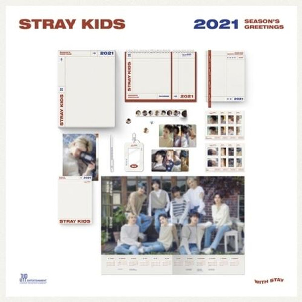 STRAY KIDS - 2021 SEASONS GREETINGS