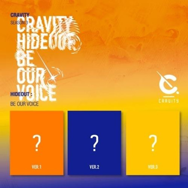 CRAVITY - CRAVITY SEASON3. [HIDEOUT: BE OUR VOICE] (Ramdom) + Poster