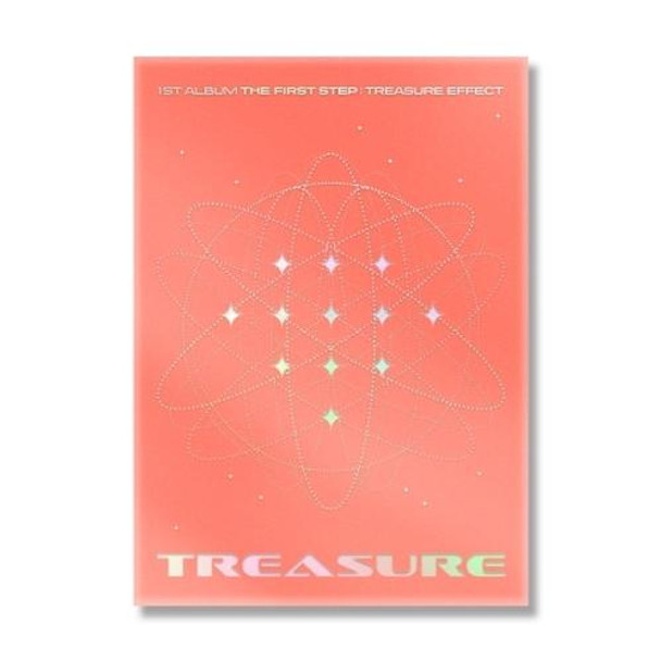 TREASURE - 1st ALBUM [THE FIRST STEP : TREASURE EFFECT] (ORANGE VER.) + Poster