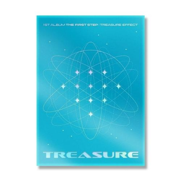 TREASURE - Vol.1 [THE FIRST STEP : TREASURE EFFECT] (BLUE VER.) + Poster