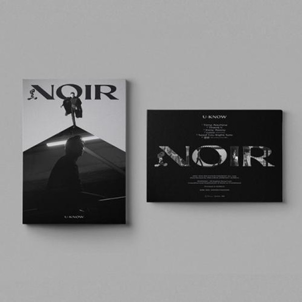 U-Know - 2nd Mini [NOIR] (Crank Up Ver.) + Poster