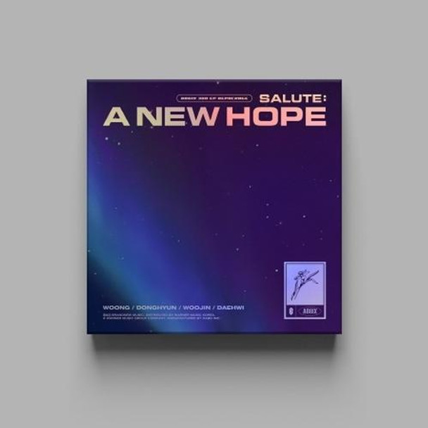 AB6IX - 3RD EP REPACKAGE [SALUTE : A NEW HOPE] (HOPE Ver.) + Poster