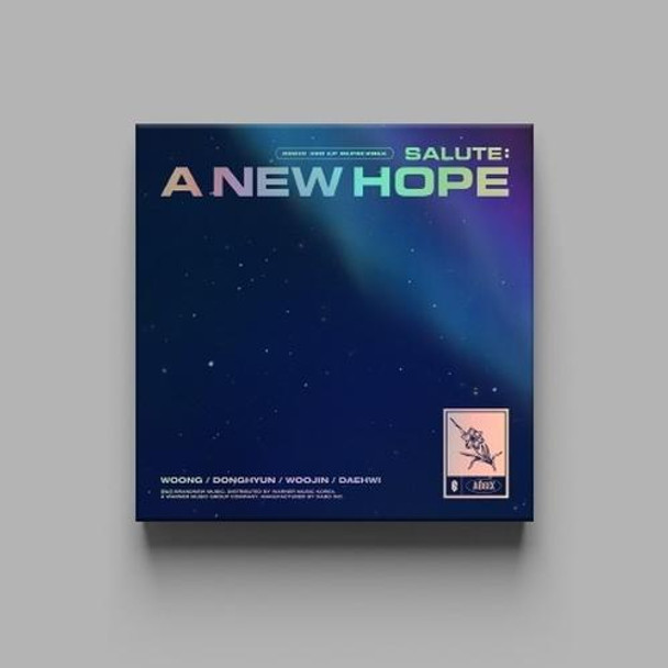 AB6IX - 3RD EP REPACKAGE [SALUTE : A NEW HOPE] (NEW Ver.) + Poster