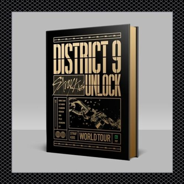 [DVD] Stray Kids - Stray Kids World Tour [District 9 : Unlock' in SEOUL + Benefit Card