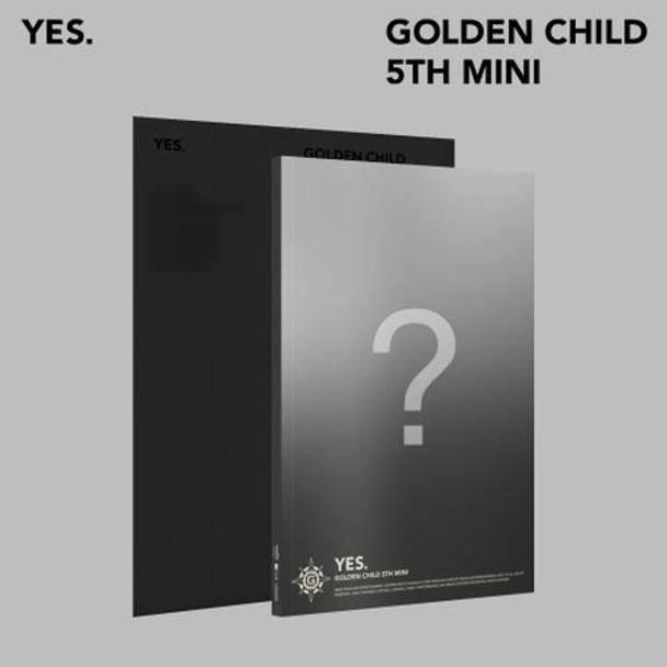 Golden Child - 5th Mini [ YES.] (Random Ver.) + Poster