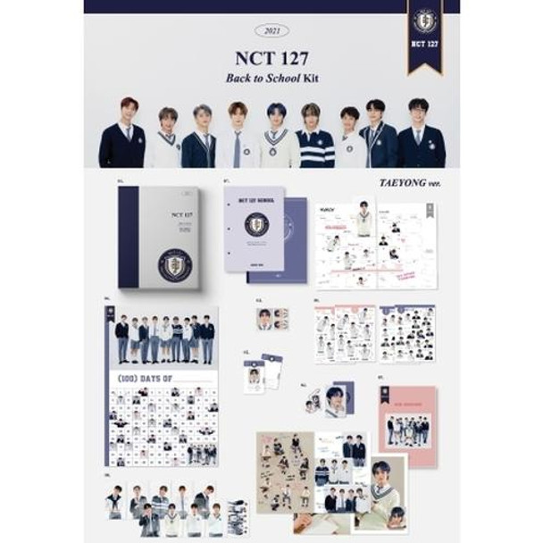 NCT 127 - 2021NCT 127 BACK TO SCHOOL KIT