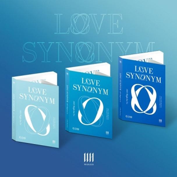 WONHO - 1st Mini Part.2 [Love Synonym #2 : Right for Us] All 3 ver set