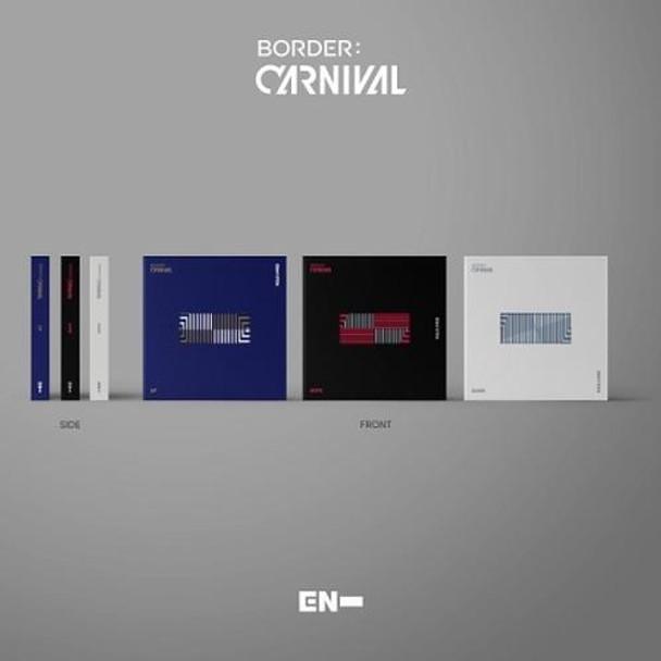 ENHYPEN - 2nd Mini [BORDER : CARNIVAL] + Weverse Gift Random Ver