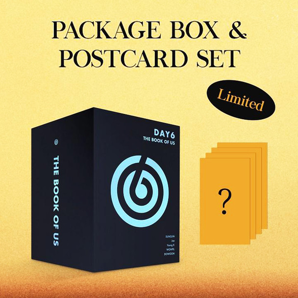 DAY6 - 7th Mini [The Book of Us : Negentropy - Chaos swallowed up in love] PACKAGE BOX& POSTCARD SET