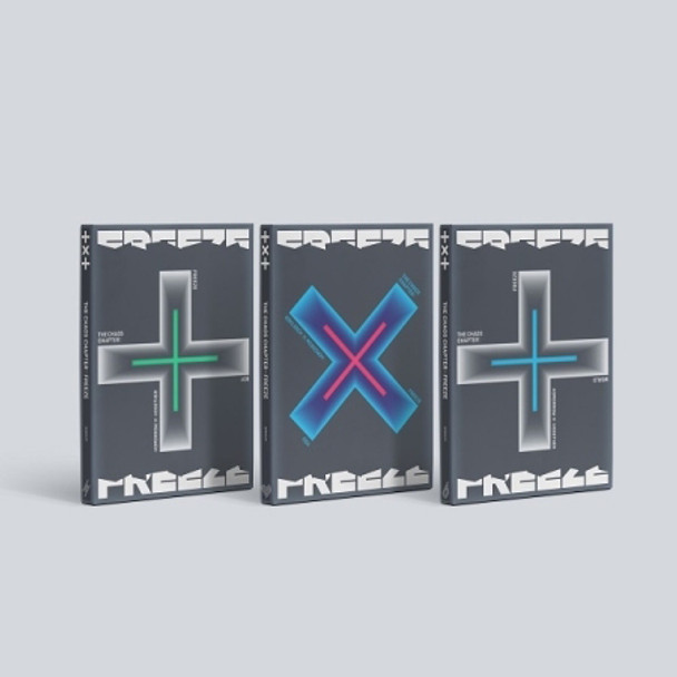 TXT - Album [THE CHAOS CHAPTER : FREEZE] 3 Set Ver. + Weverse Gift