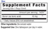 18oz Boron Liquid Mineral Supplement Facts - Eidon Minerals