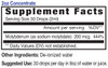 2oz Concentrate Molybdenum Mineral Supplement Facts - Eidon Minerals