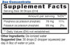 2oz Concentrate Phosphorus Mineral Supplement Facts - Eidon Minerals