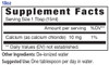 18oz Calcium mineral supplement facts, bioavailable - Eidon Minerals