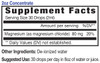 2oz Concentrate Magnesium supplement facts - Eidon Minerals