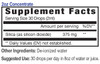 Silica Mineral Supplement, 2oz Concentrate Supplement Facts, Eidon Minerals