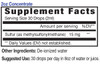 2oz Concentrate Sulfur mineral supplement facts - Eidon Ionic Minerals
