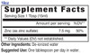 18oz Zinc mineral supplement facts - Eidon Ionic Minerals, trace minerals
