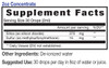 2oz Joint Support mineral blend supplement facts - Eidon Minerals
