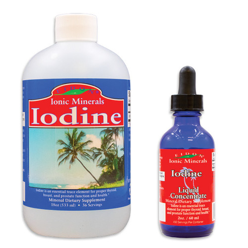Eidon Iodine Mineral Supplement. Bioavailable, all natural, and Vegan.