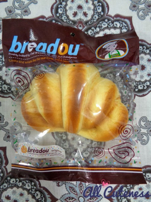 Breadou Pastry Jumbo Textured Squishy: Design A