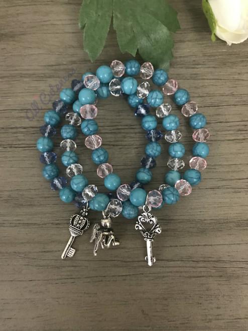 Lovely Bracelet Set: Angel
