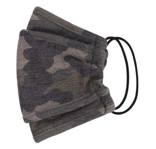 Camouflage Face Mask w/ Filter Pocket