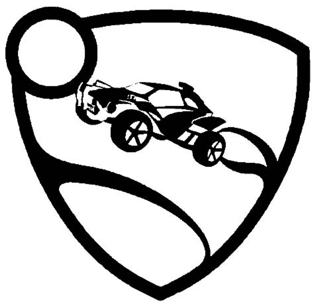 Rocket League Logo Vinyl Decal Sticker